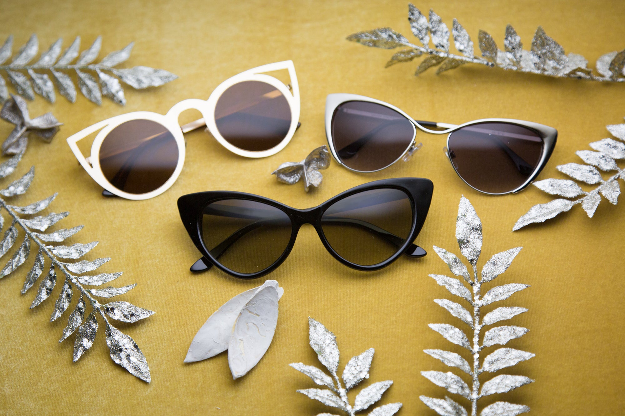 Sunglass.LA Womens Vintage Retro Cateyes Sunglasses Trend