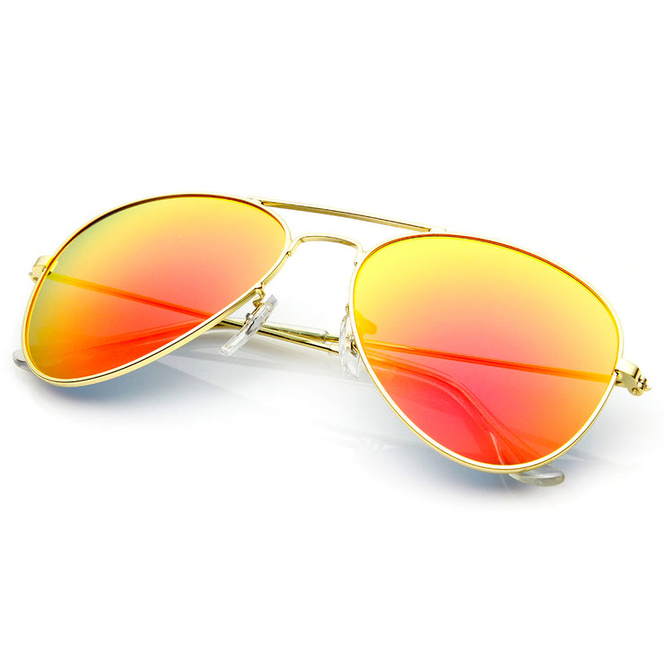 ef3c3d3969 Original Classic Metal Standard Aviator Sunglasses - Nickel Plated Frame