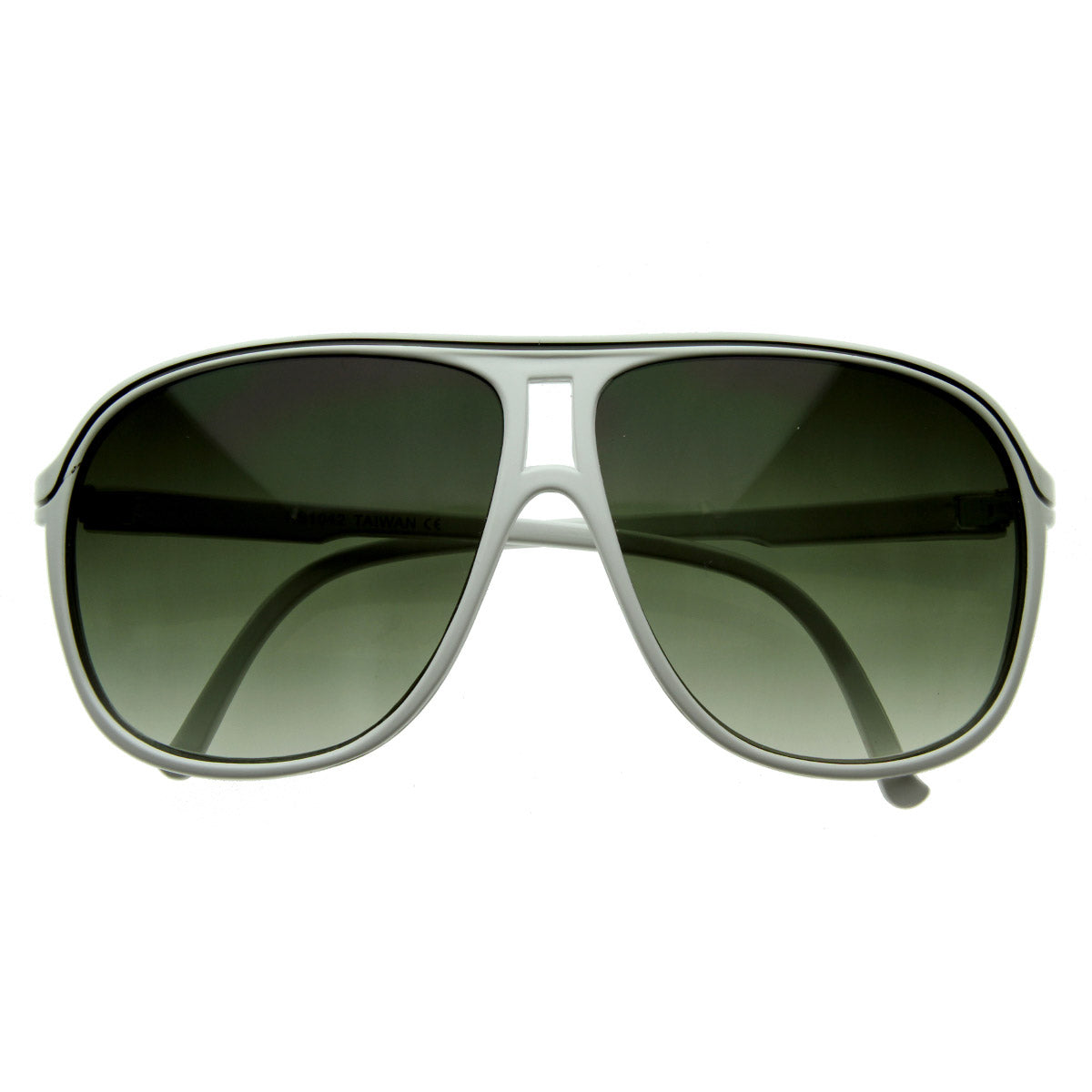 Large Retro Style Tear drop Shaped Aviator Sunglasses