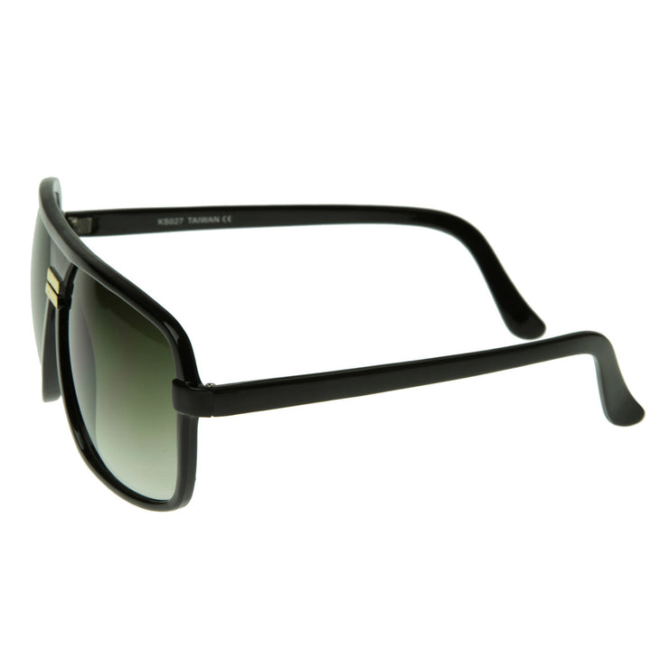 Classic Square Aviator Plastic Sunglasses Shades