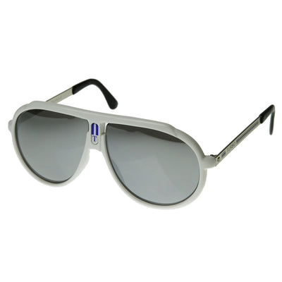 Retro Sport 80s Style Mirror Aviator Sunglasses