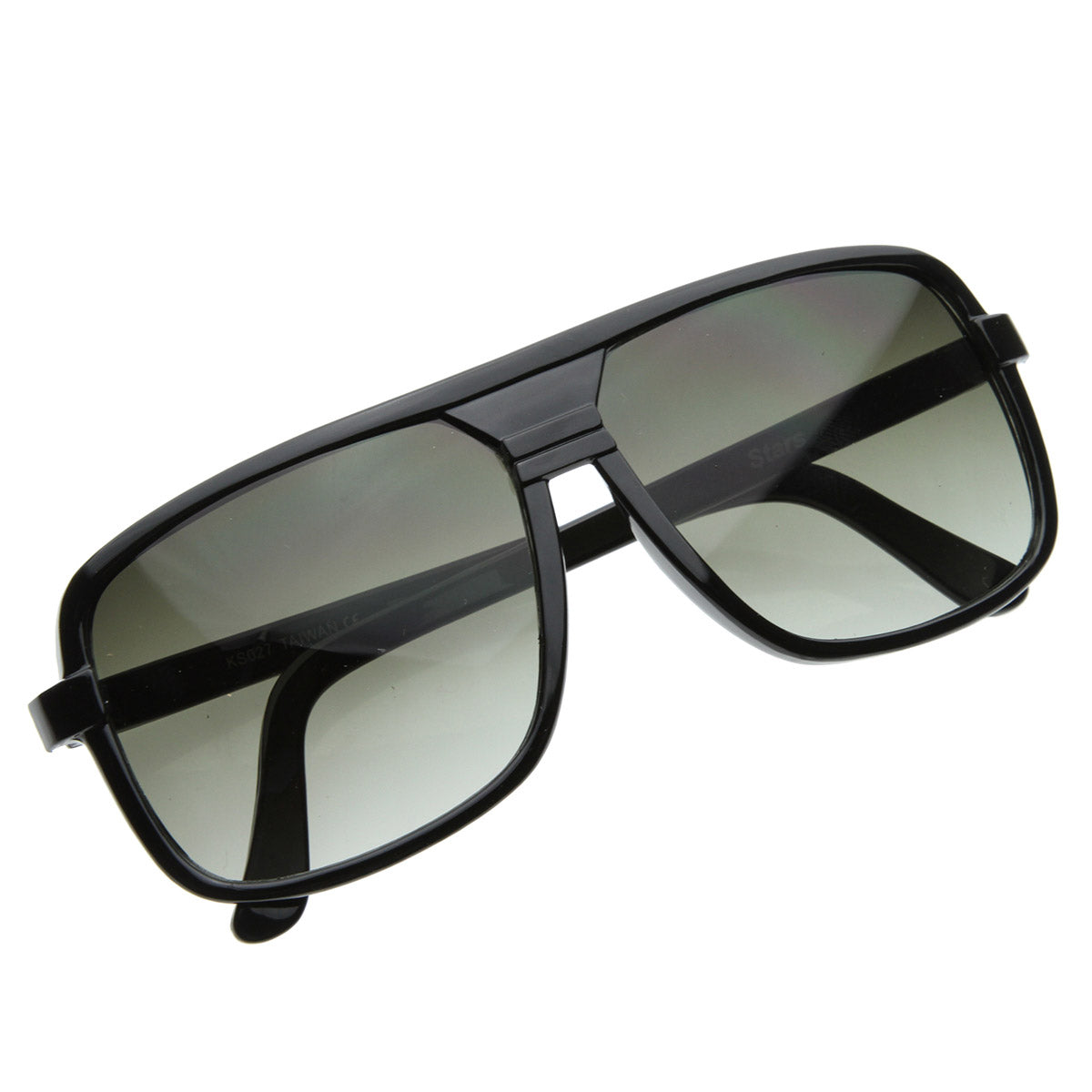Classic Square Plastic Aviator Sunglasses Shades