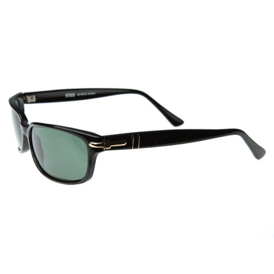 Modified Rectangular Horned Sunglasses