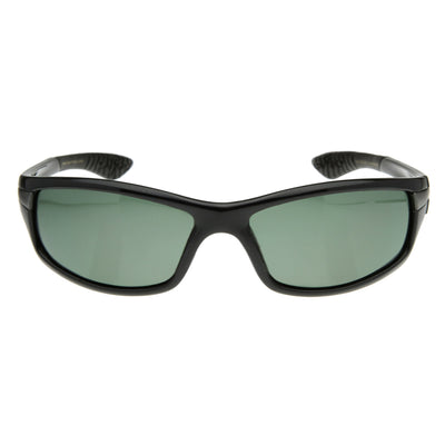 Rectangular Athletic Sports Polarized Sunglasses