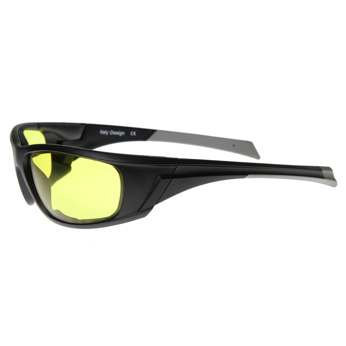 Safety Sports Protective Padded Sunglasses Eyewear Night Riding Glasses