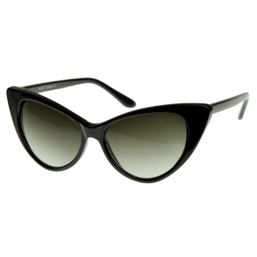 8e619270d5 Super Cateyes Vintage Inspired Fashion Mod Chic High Pointed Cat-Eye S -  sunglass.la