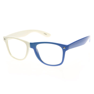 White-Blue Clear Lens