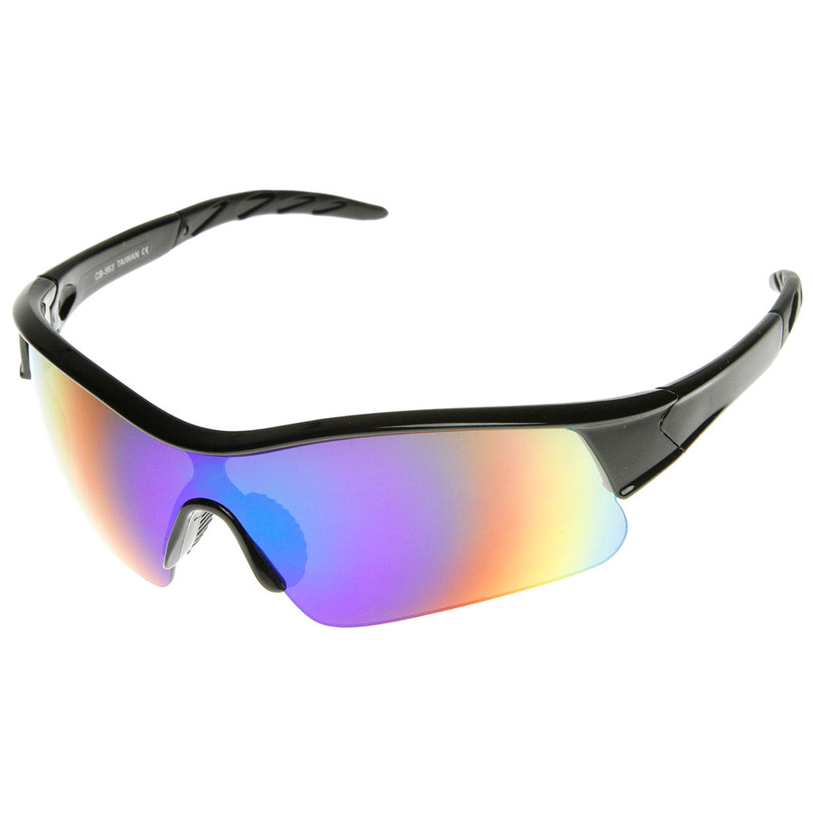 e0eabdca8ee9 Black Fire. Black Fire · X Hunter Brand Semi Rimless Flash Mirror Lens  Sports Sunglasses