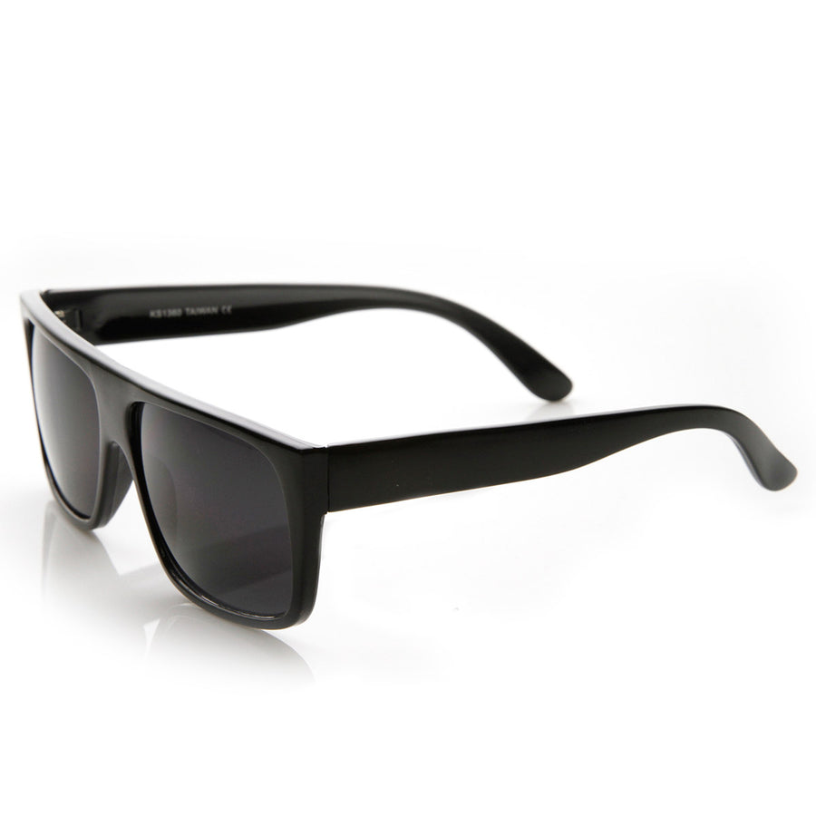 Classic Old School Eazy E Square Flat Top OG Loc Sunglasses