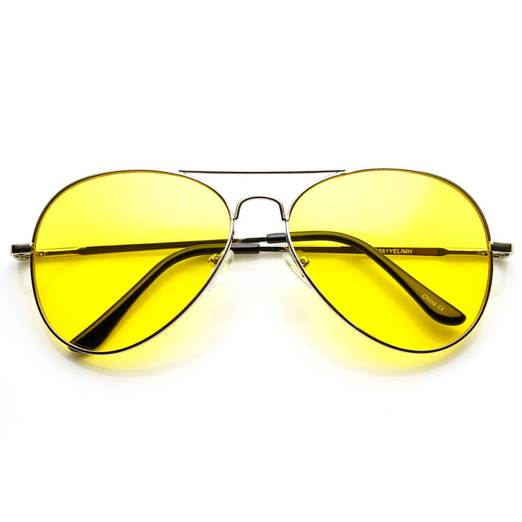 Image result for Yellow Tinted Sunglasses Can Improve Your Eyesight