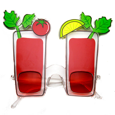 0194dc725a Red Bloody Mary Cocktail Party Favor Drinking Novelty Sunglasses ...