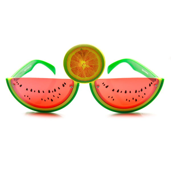 Watermelon Slice Fruit Shape Silly Fun Novelty Party Glasses