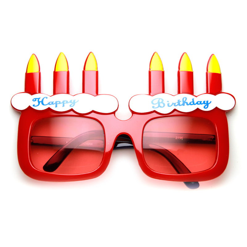Happy Birthday Cake And Candles Party Favor Celebration