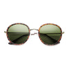 Matte Coat | Tortoise-Gold / Green