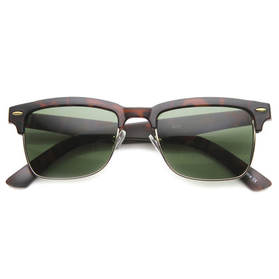 Matte Tortoise-Gold / Green