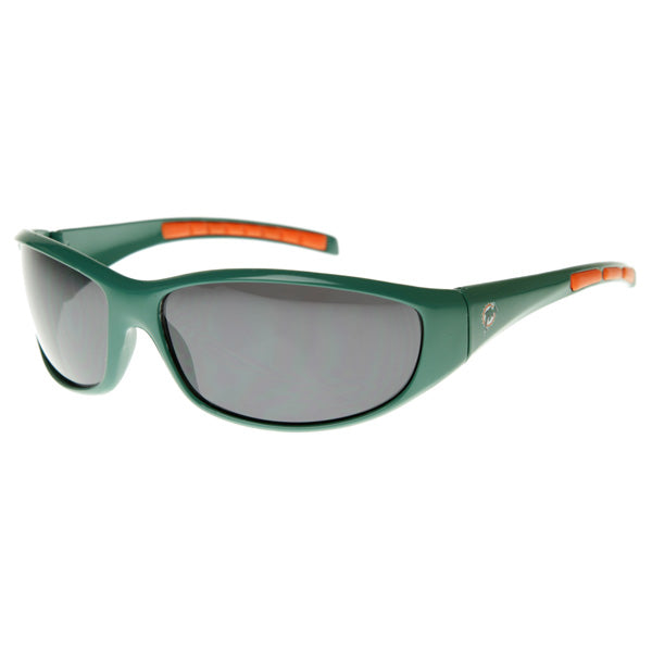 Officially Licensed NFL Football Miami Dolphins Sports Wrap Sunglasses