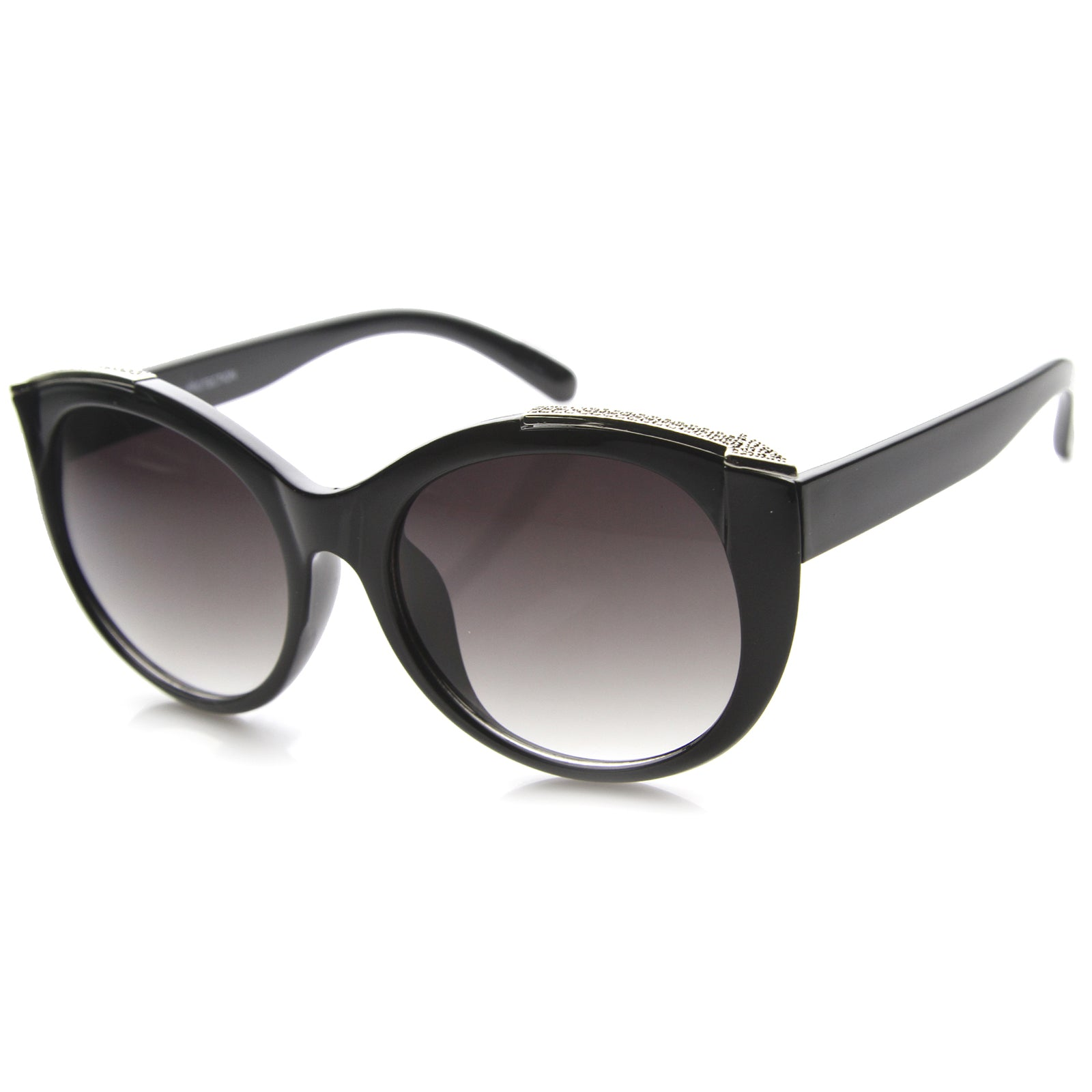 Womens Cat Eye Sunglasses With UV400 Protected Gradient Lens - sunglass.la - 6