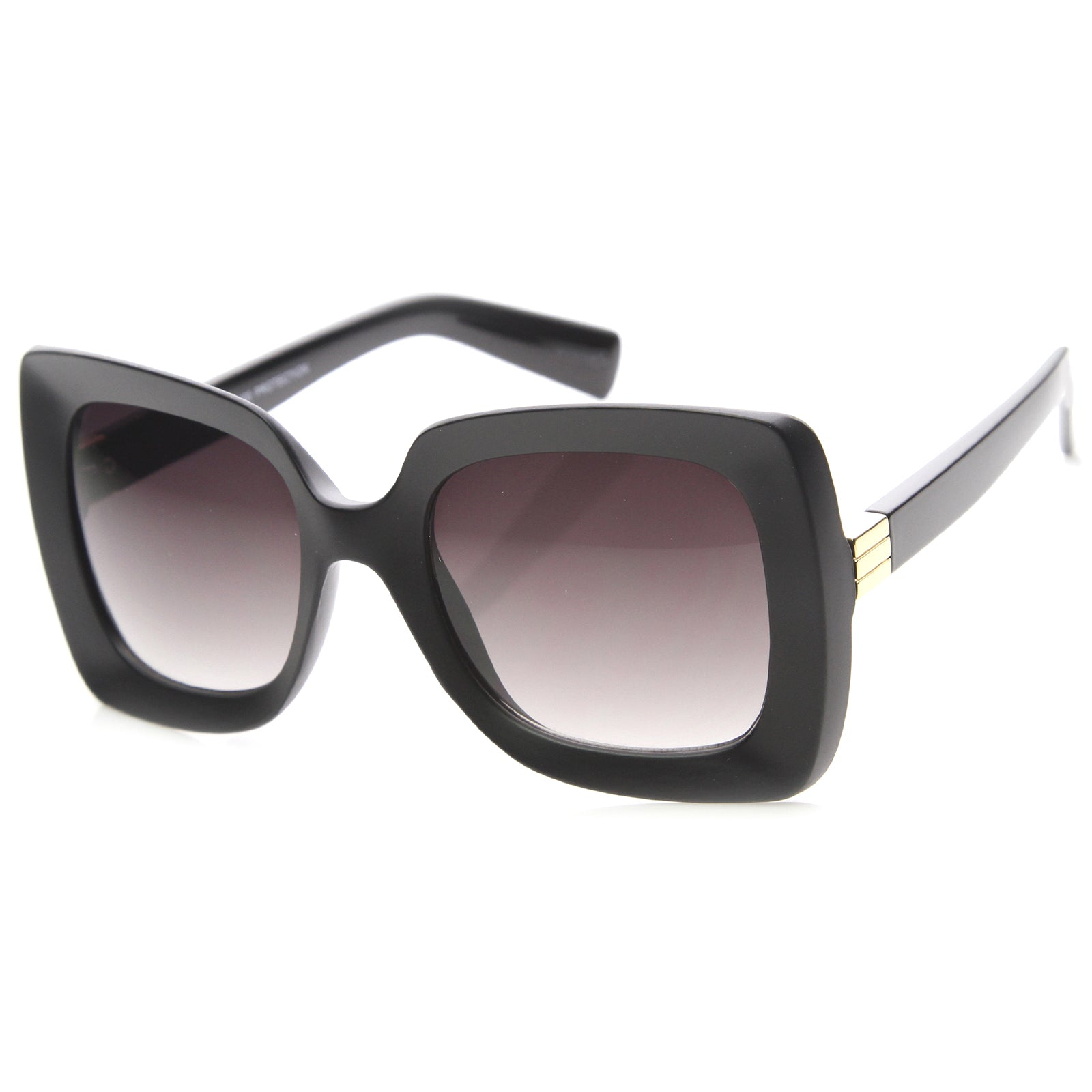 Womens Butterfly Sunglasses With UV400 Protected Gradient Lens - sunglass.la - 7
