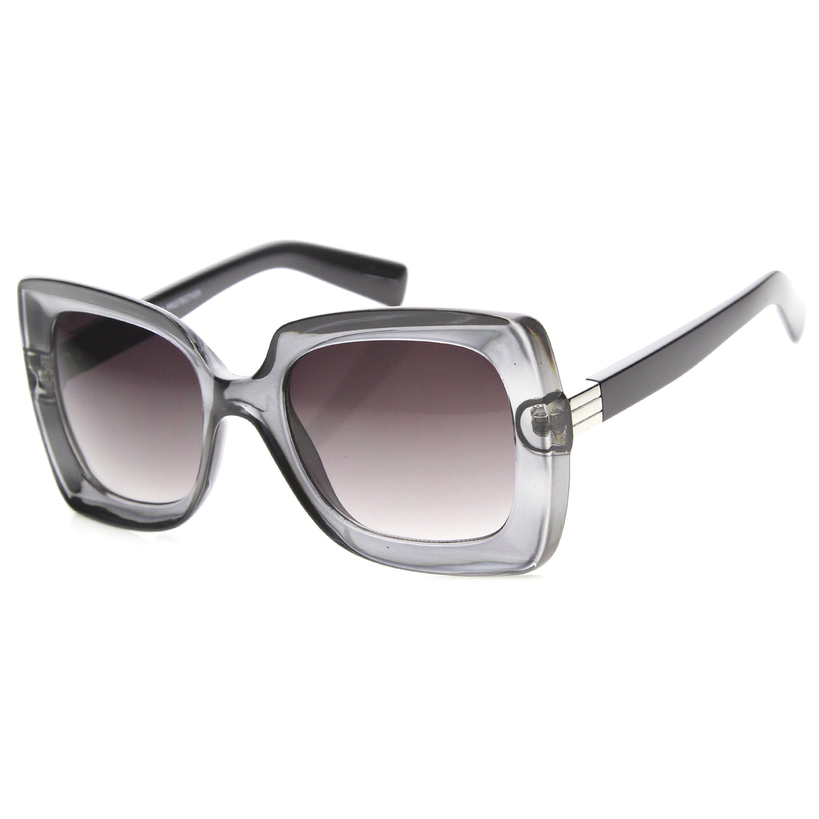 Womens Butterfly Sunglasses With UV400 Protected Gradient Lens - sunglass.la - 8