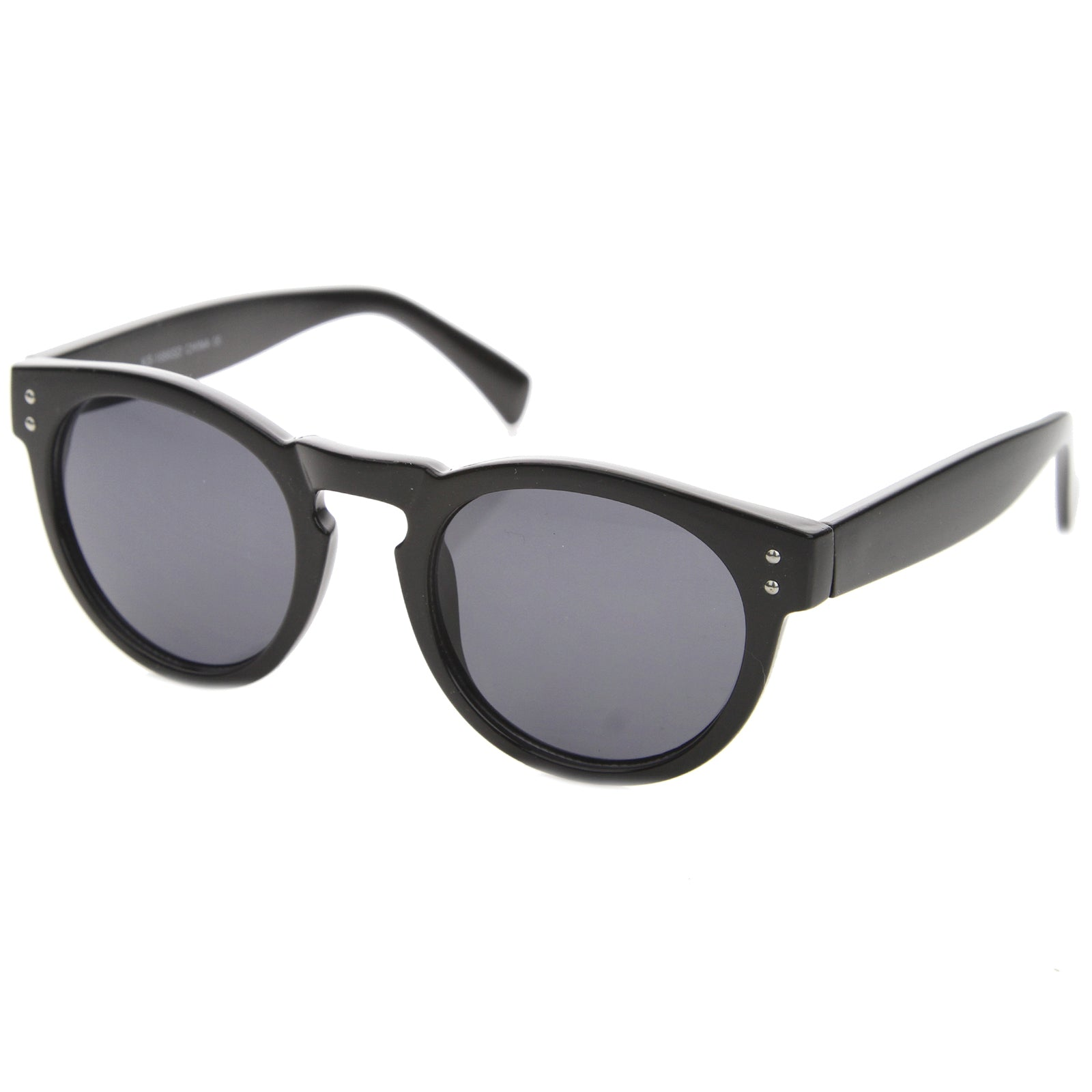 Horn Rimmed Sunglasses With UV400 Protected Composite Lens - sunglass.la