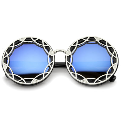 Black-Silver / Blue Mirror