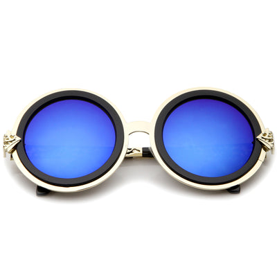 Gold-Black / Blue Mirror