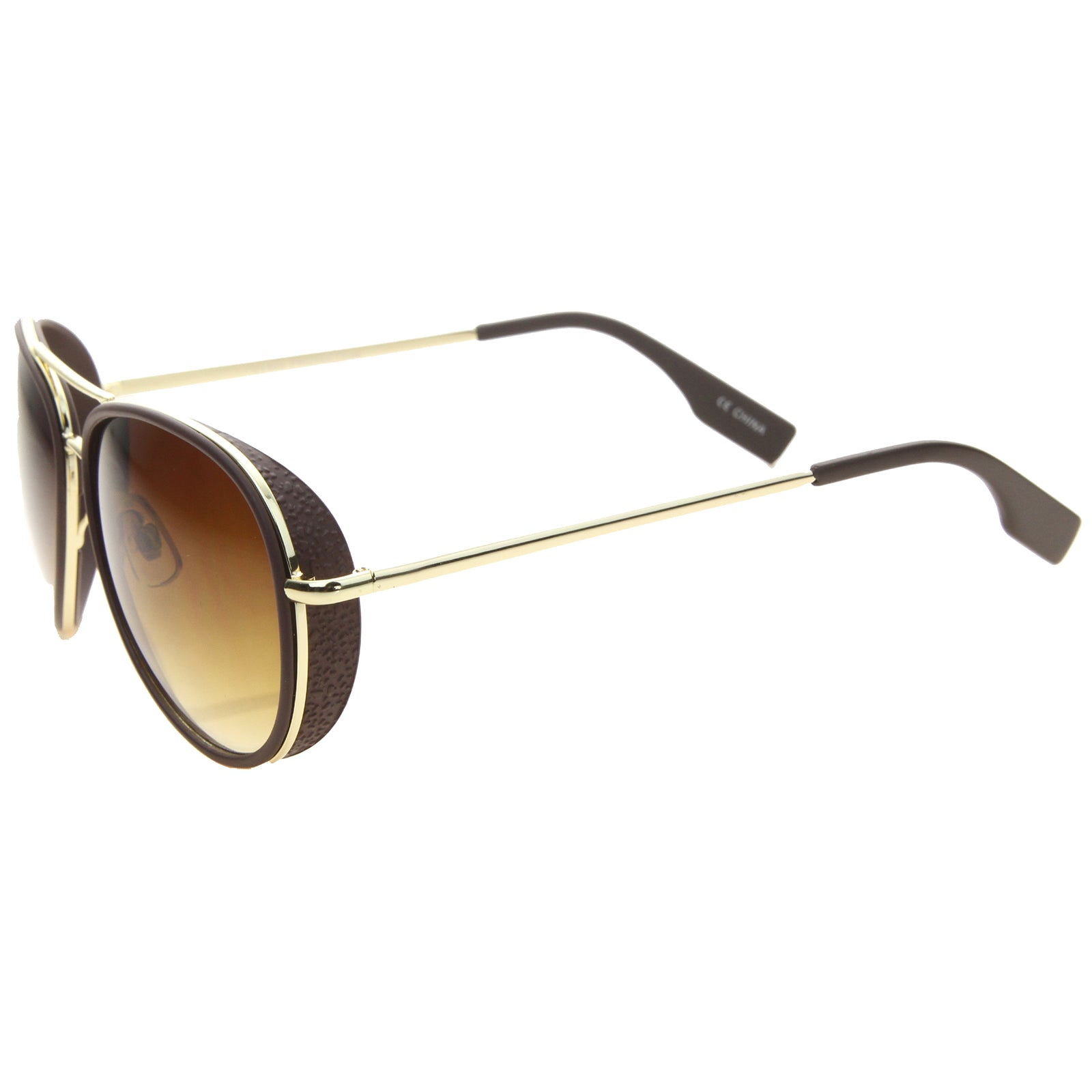 Womens Aviator Sunglasses With UV400 Protected Gradient Lens - sunglass.la - 3