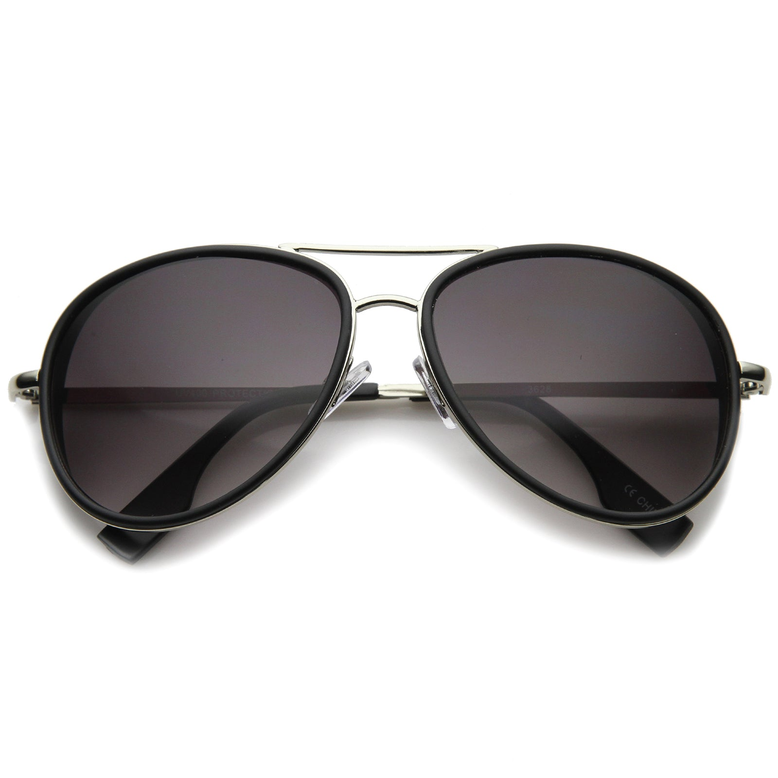 Womens Aviator Sunglasses With UV400 Protected Gradient Lens - sunglass.la - 5
