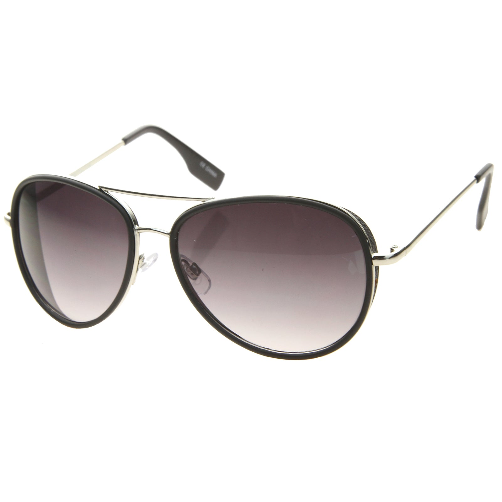 Womens Aviator Sunglasses With UV400 Protected Gradient Lens - sunglass.la - 6