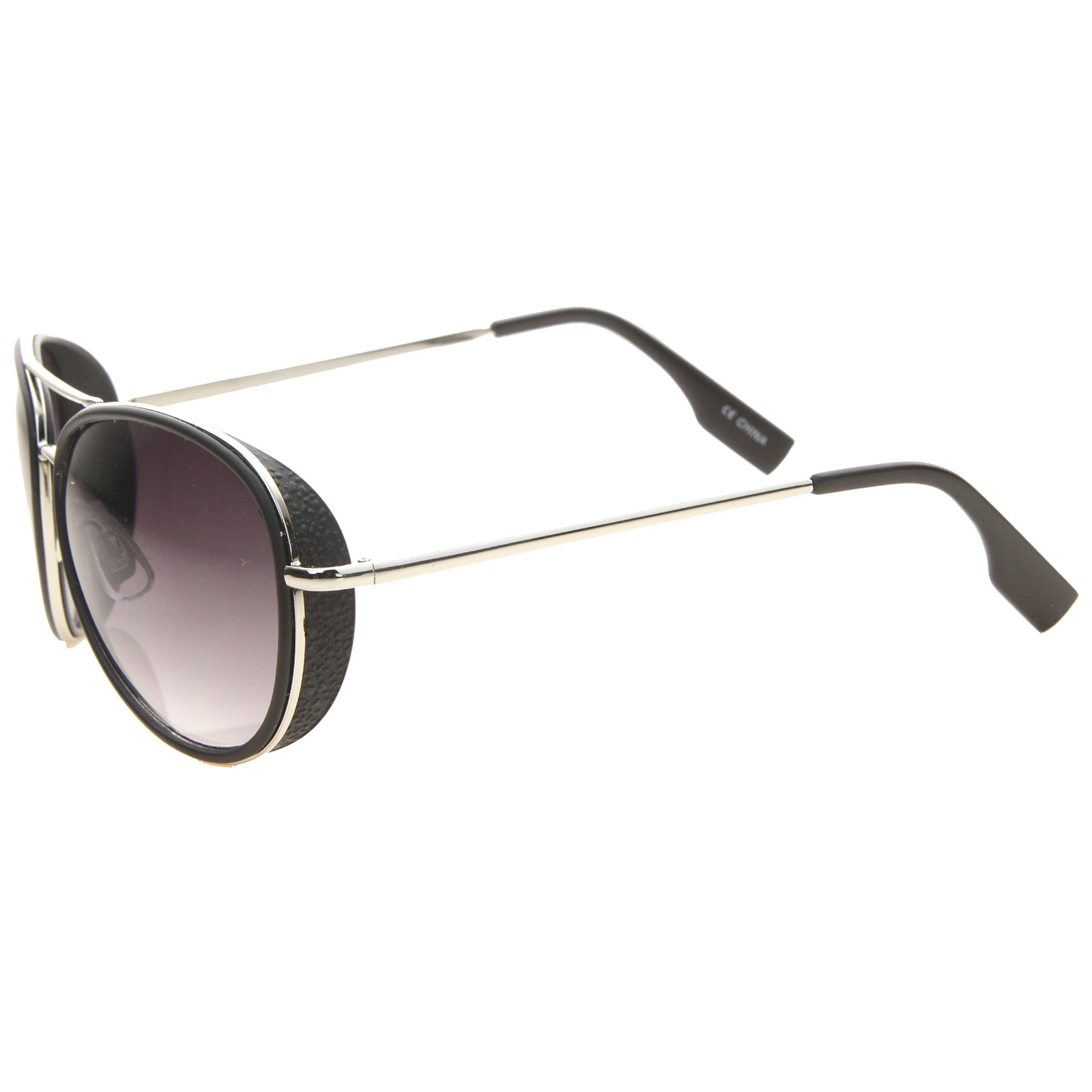 Womens Aviator Sunglasses With UV400 Protected Gradient Lens - sunglass.la - 7