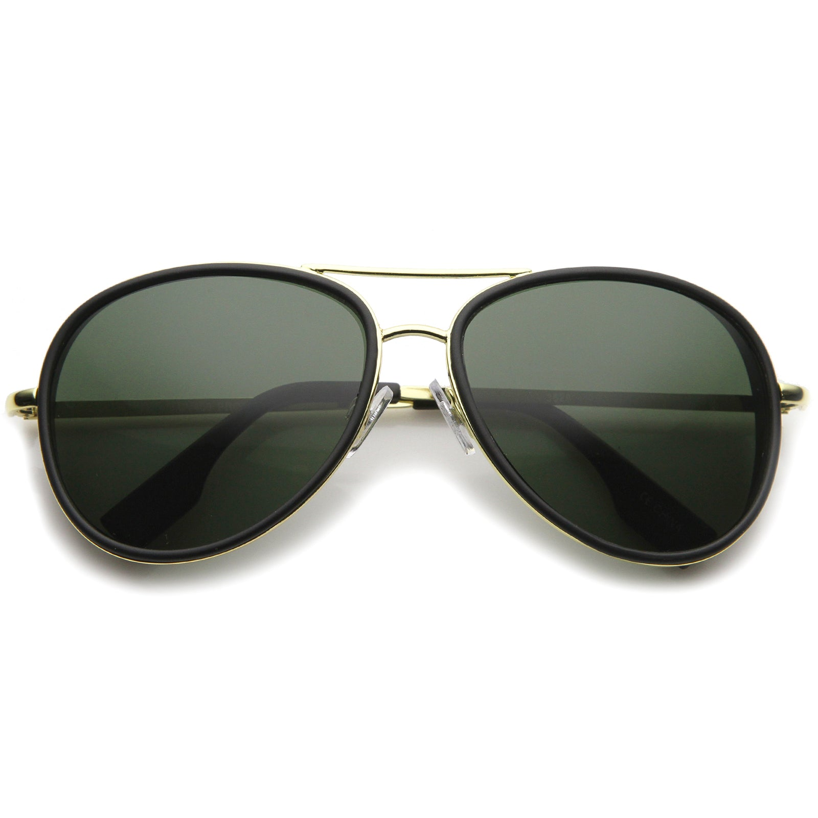 Womens Aviator Sunglasses With UV400 Protected Gradient Lens - sunglass.la - 9