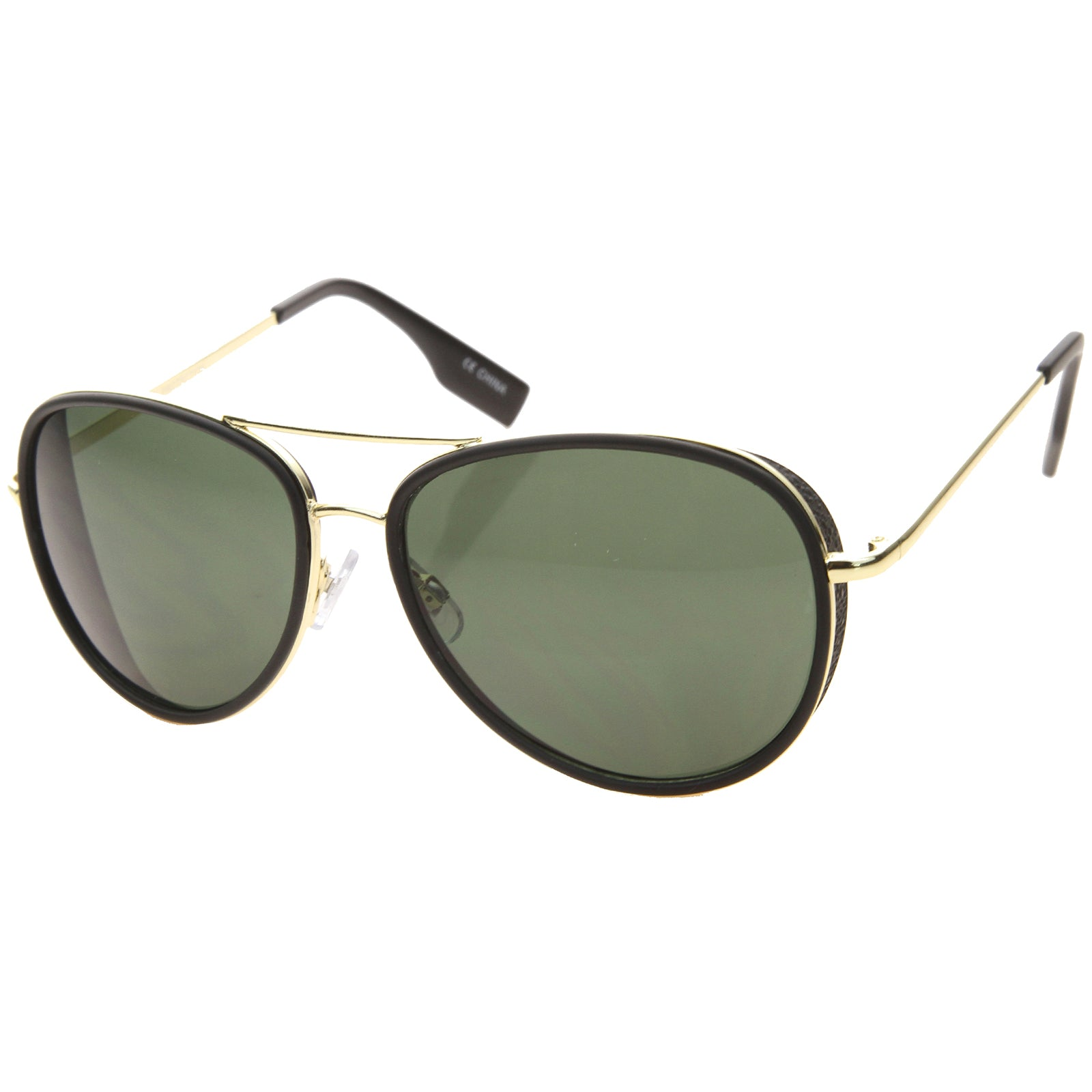 Womens Aviator Sunglasses With UV400 Protected Gradient Lens - sunglass.la - 10