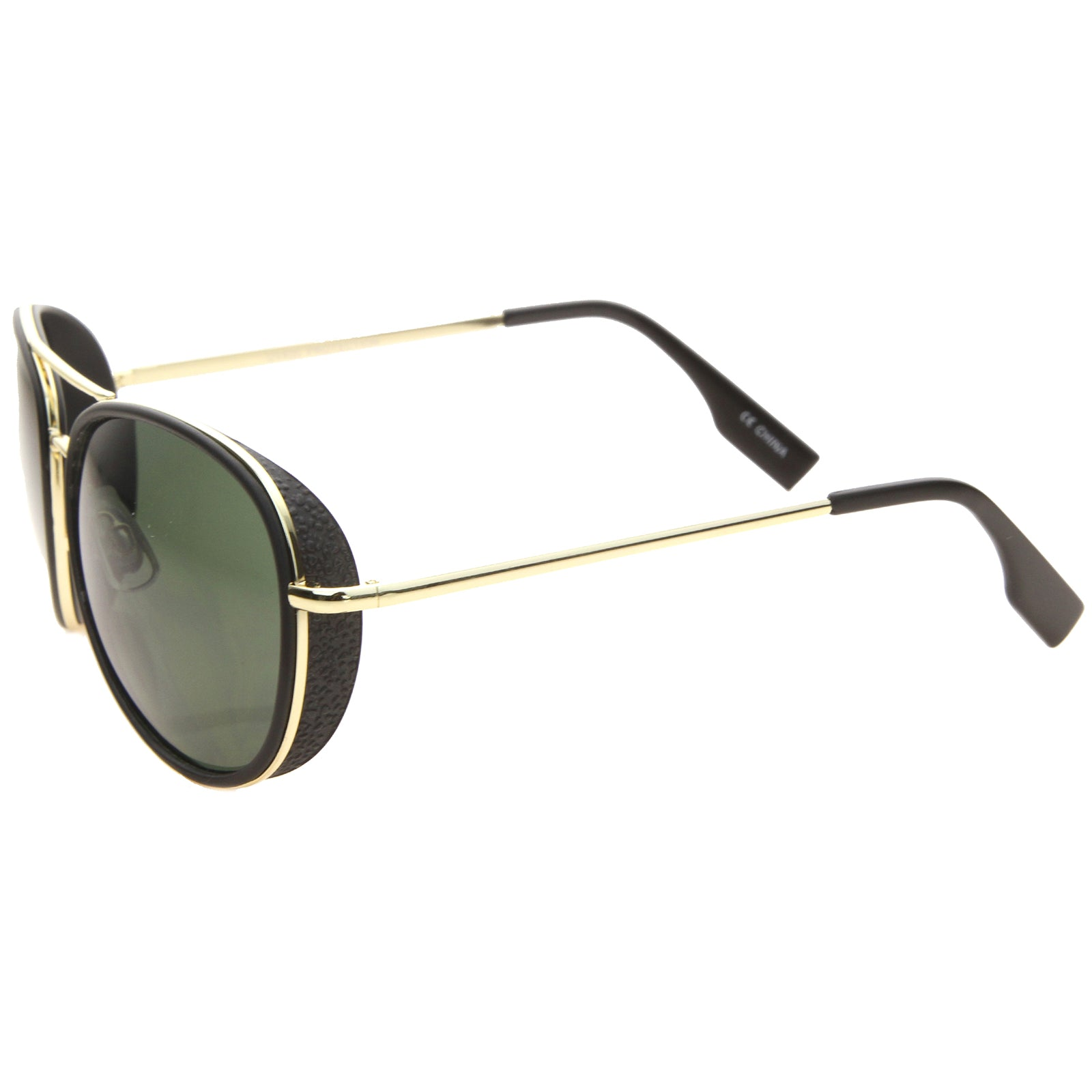 Womens Aviator Sunglasses With UV400 Protected Gradient Lens - sunglass.la - 11