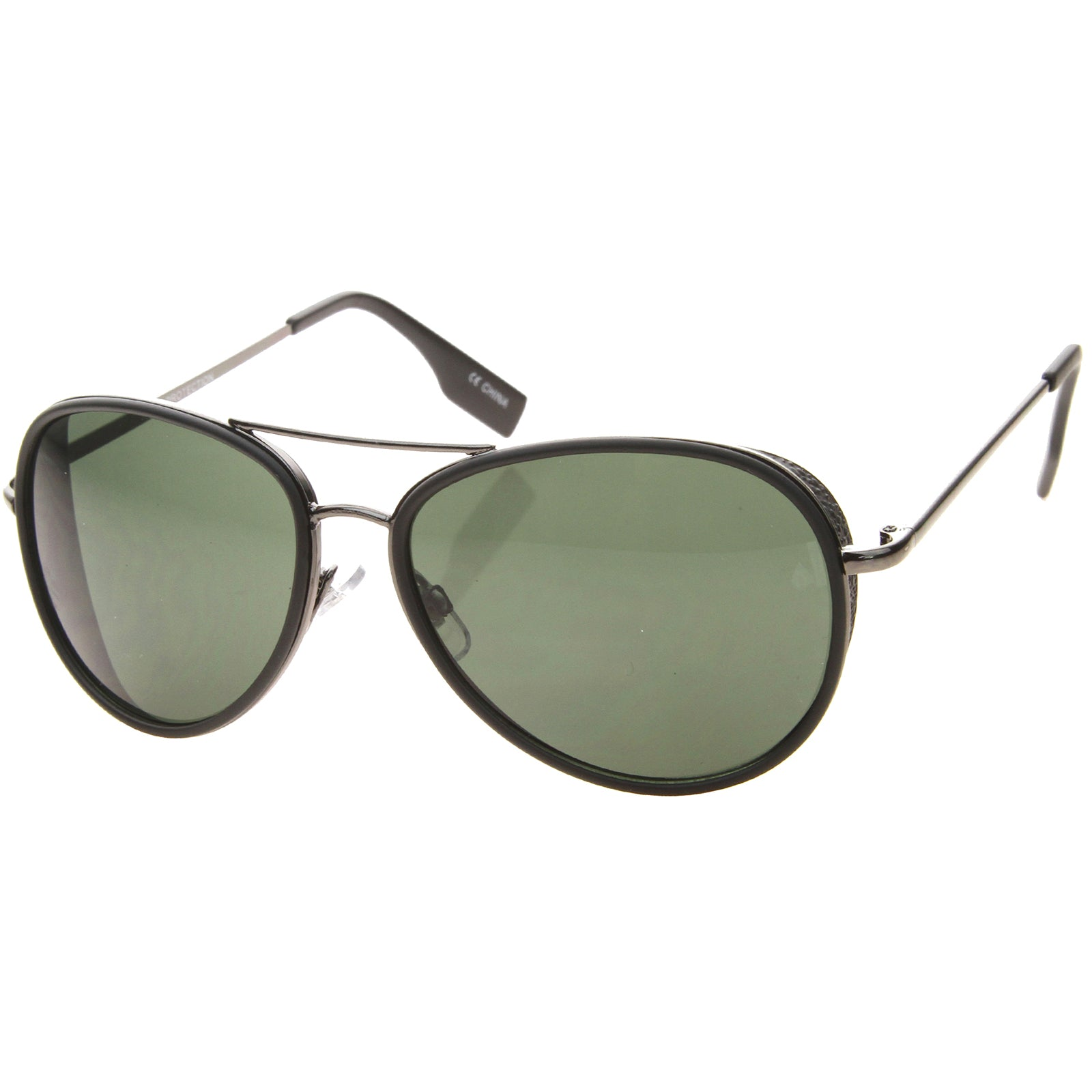 Womens Aviator Sunglasses With UV400 Protected Gradient Lens - sunglass.la - 14