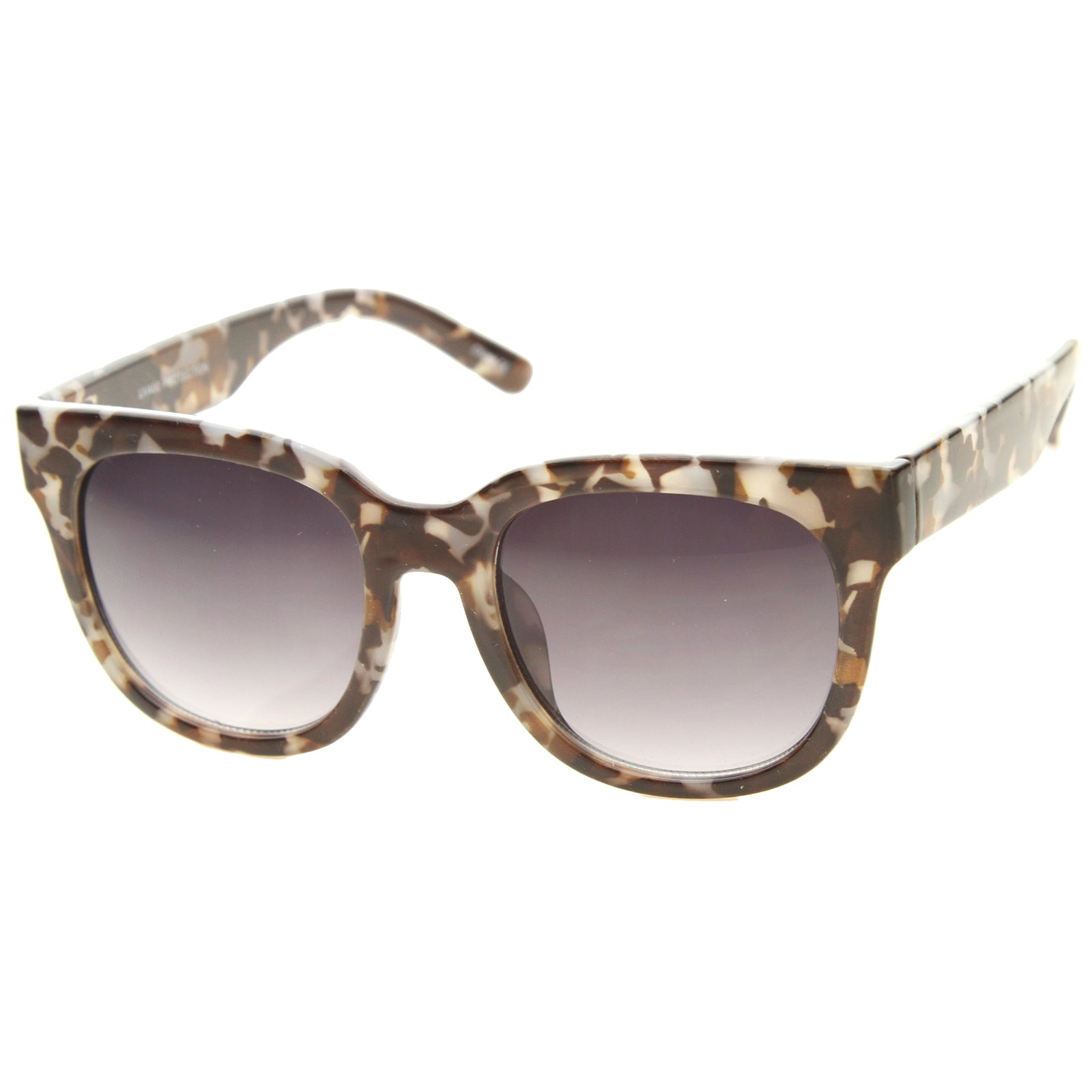 Womens Cat Eye Sunglasses With UV400 Protected Gradient Lens - sunglass.la - 2