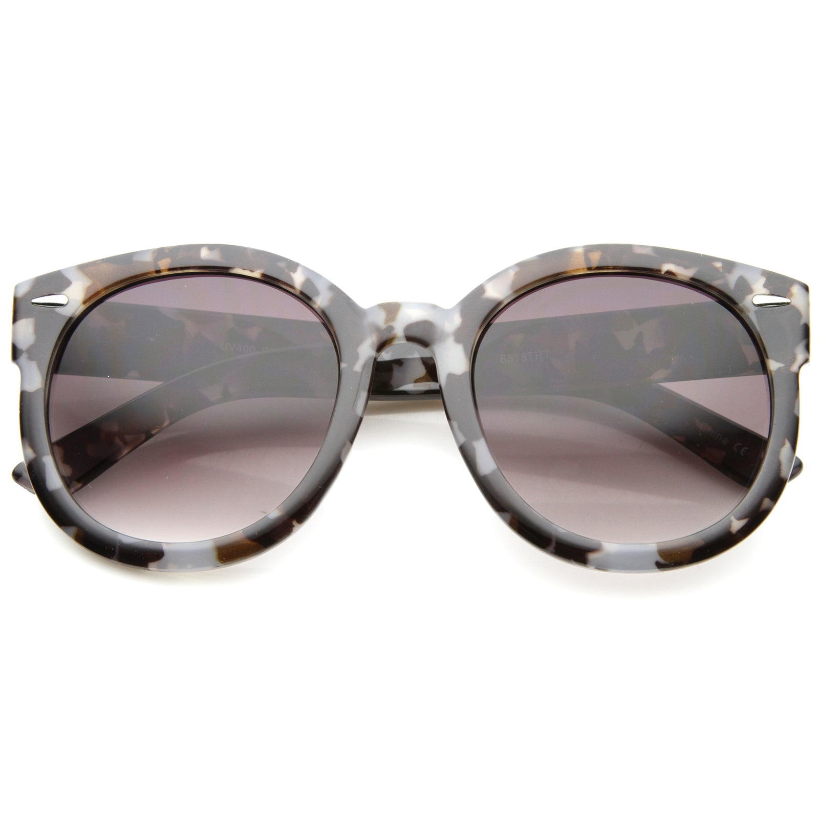 Womens Oversized Sunglasses With UV400 Protected Composite Lens - sunglass.la - 1