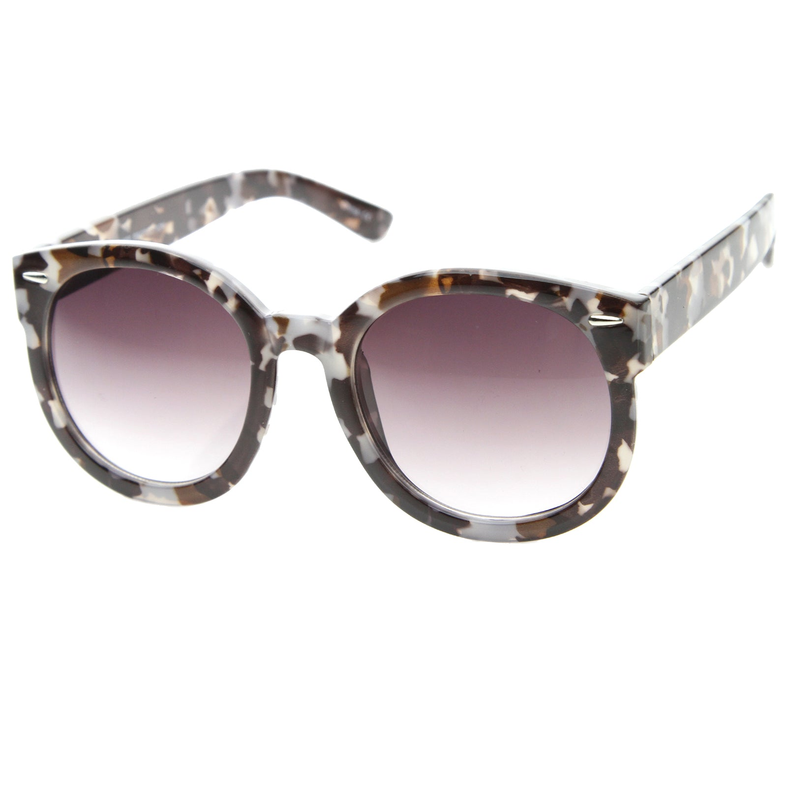 Womens Oversized Sunglasses With UV400 Protected Composite Lens - sunglass.la - 2