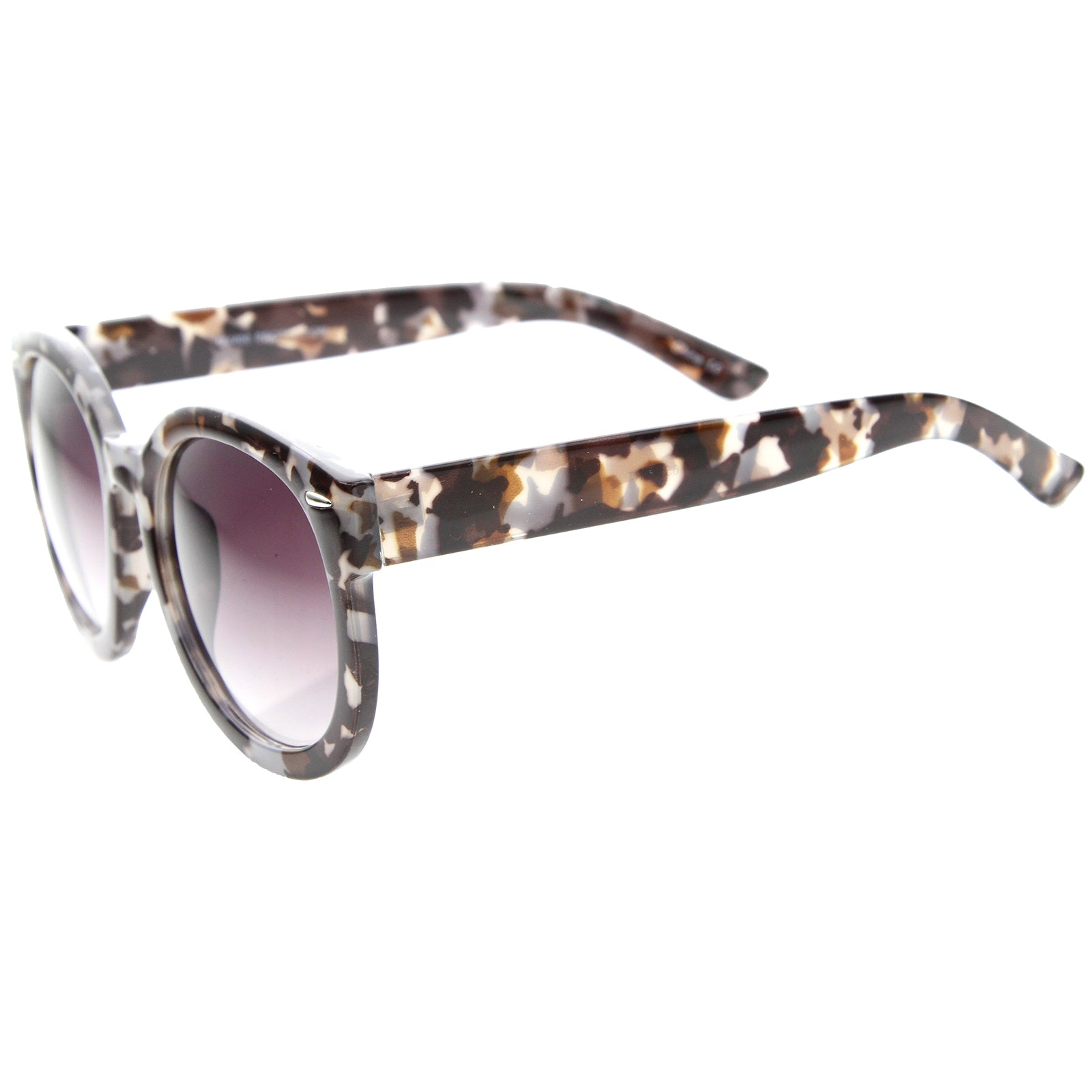 Womens Oversized Sunglasses With UV400 Protected Composite Lens - sunglass.la - 3