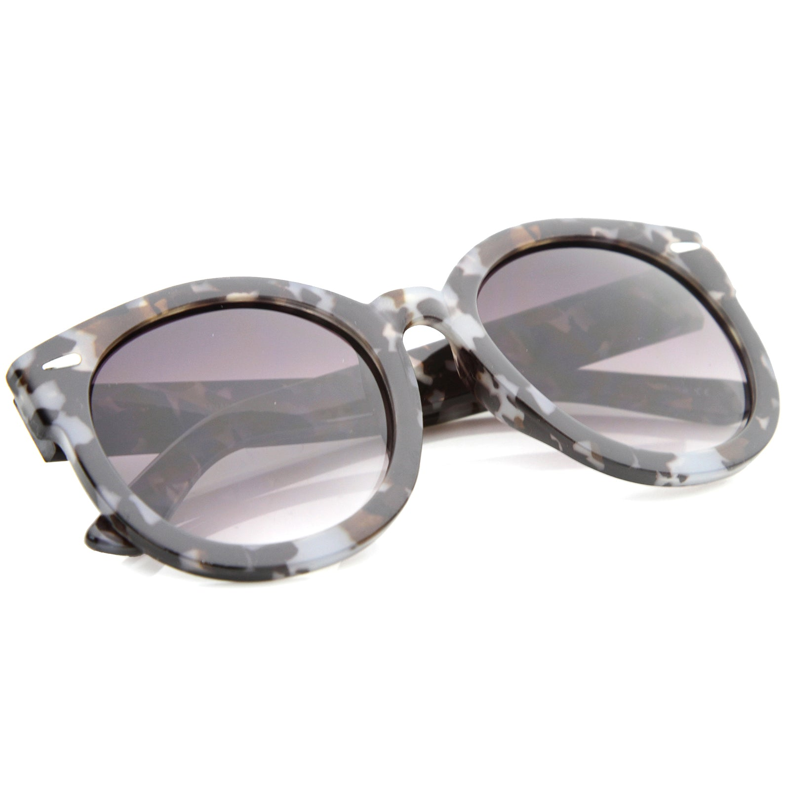 Womens Oversized Sunglasses With UV400 Protected Composite Lens - sunglass.la - 4