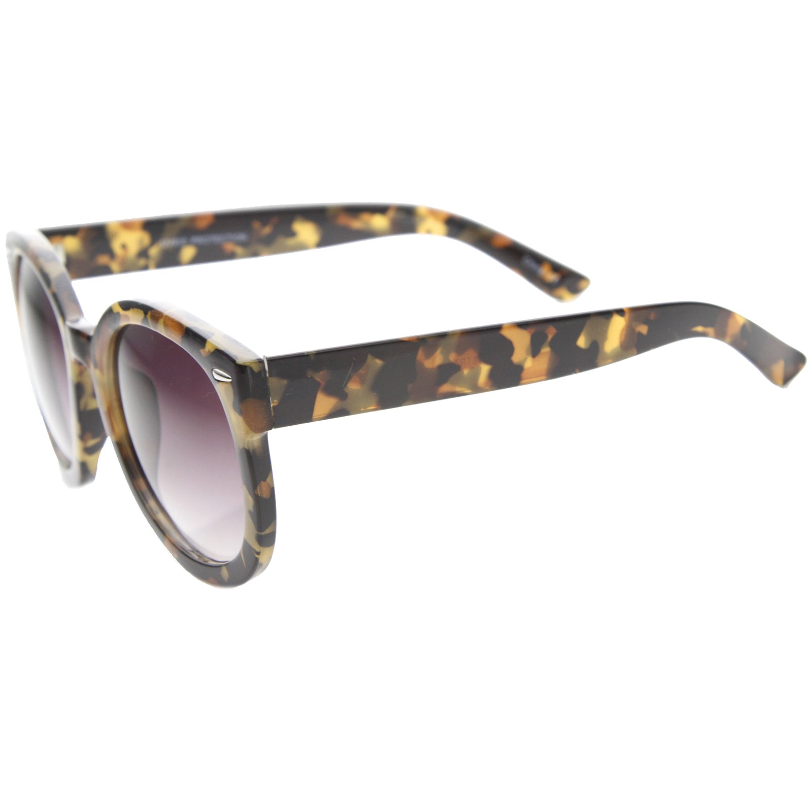 Womens Oversized Sunglasses With UV400 Protected Composite Lens - sunglass.la - 7