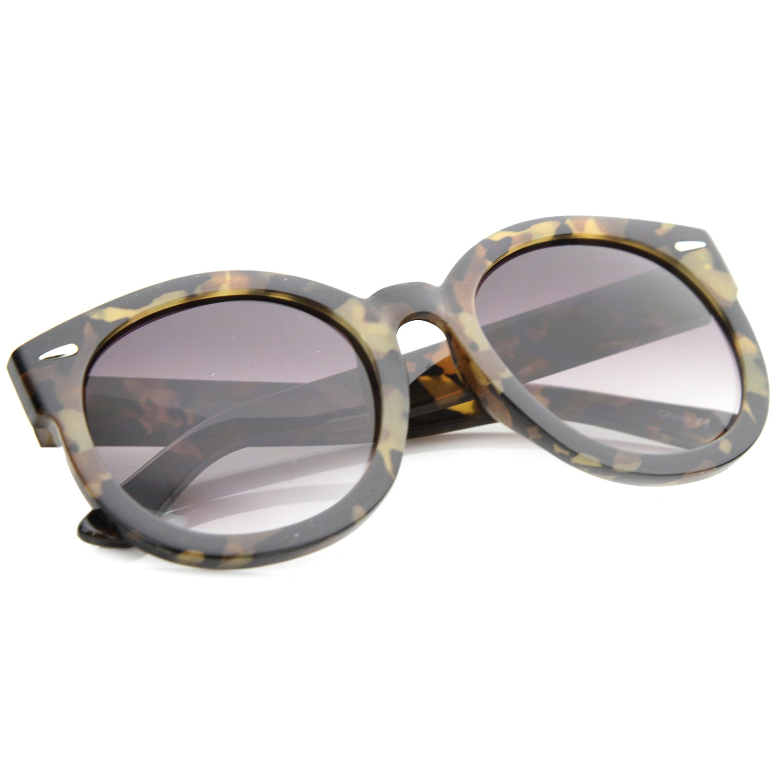 Womens Oversized Sunglasses With UV400 Protected Composite Lens - sunglass.la - 8