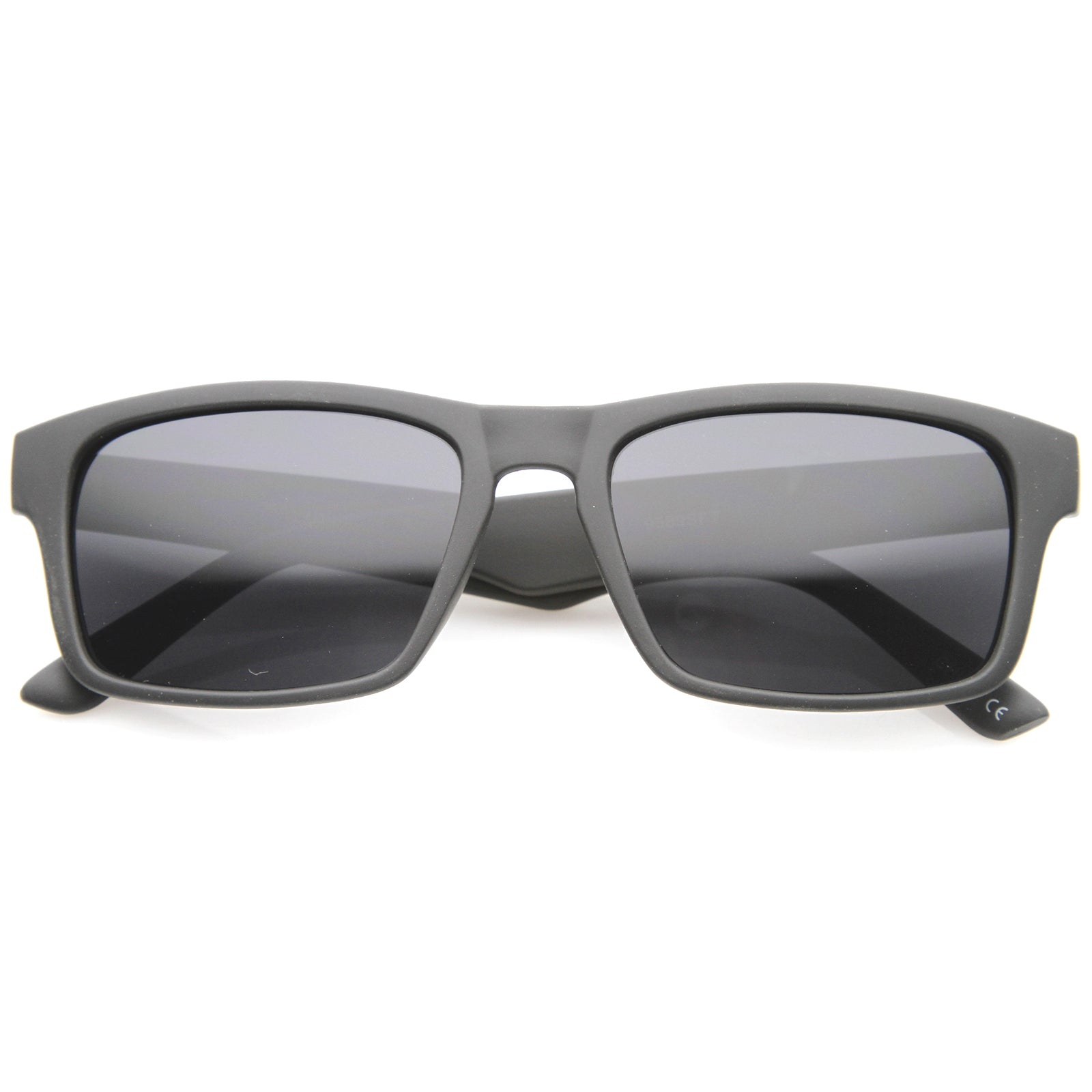 Mens Horn Rimmed Sunglasses With UV400 Protected Composite Lens - sunglass.la - 1