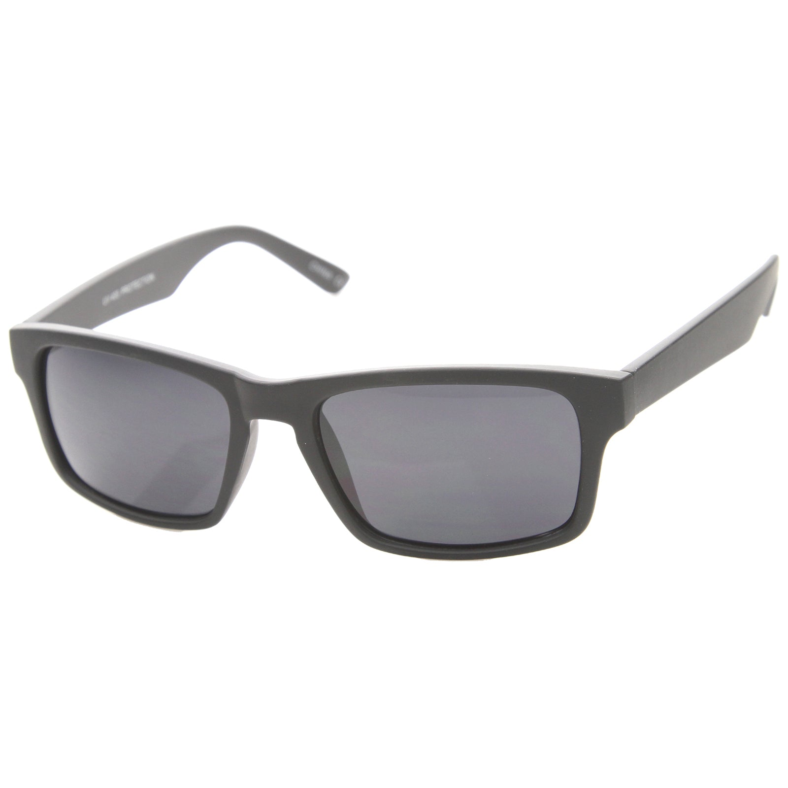 Mens Horn Rimmed Sunglasses With UV400 Protected Composite Lens - sunglass.la - 2