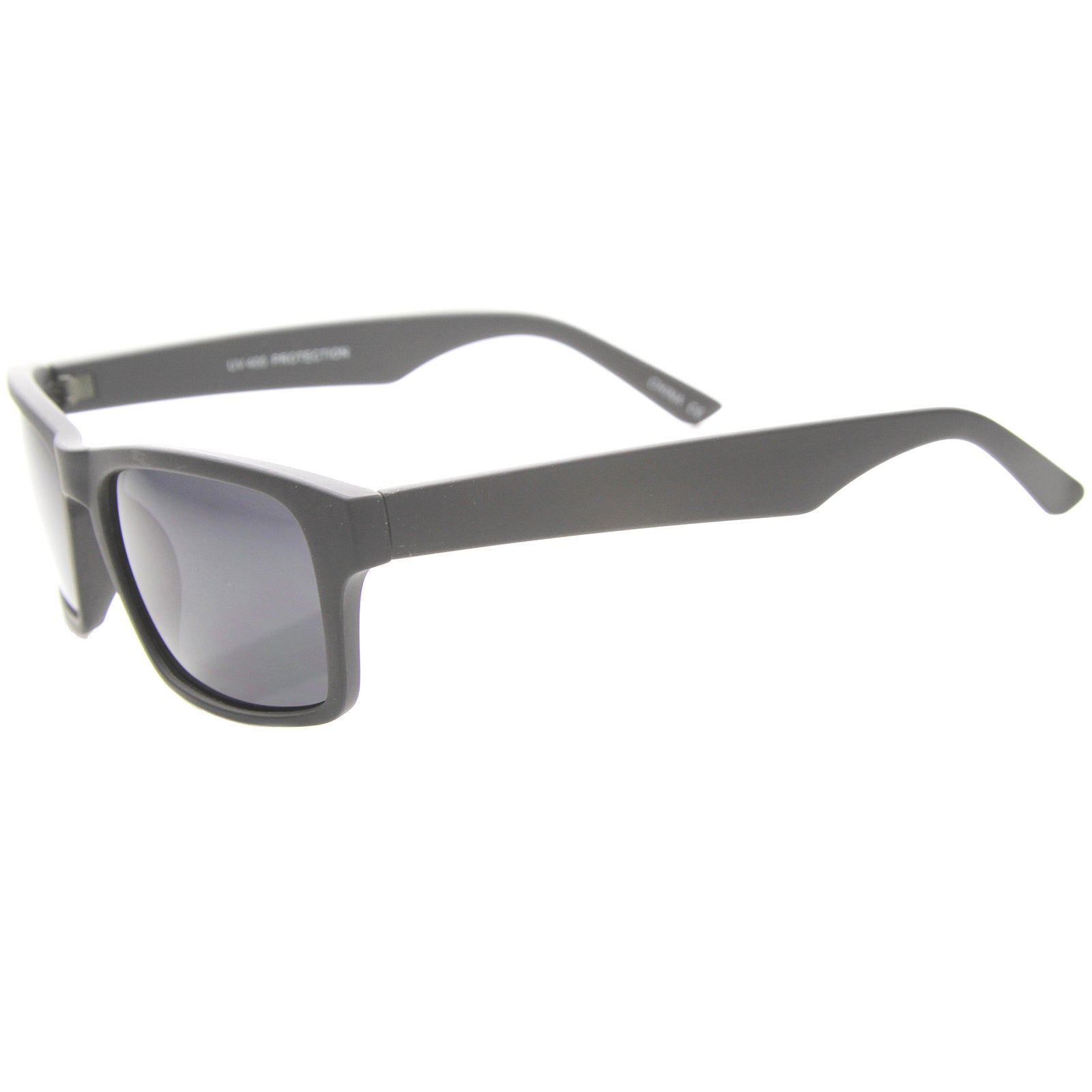 Mens Horn Rimmed Sunglasses With UV400 Protected Composite Lens - sunglass.la - 3