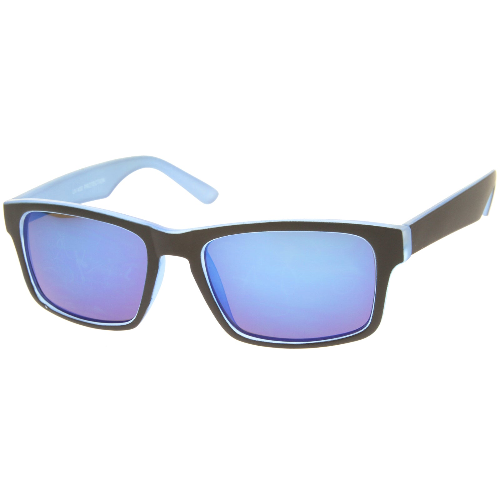 Mens Sport Sunglasses With UV400 Protected Mirrored Lens - sunglass.la - 6