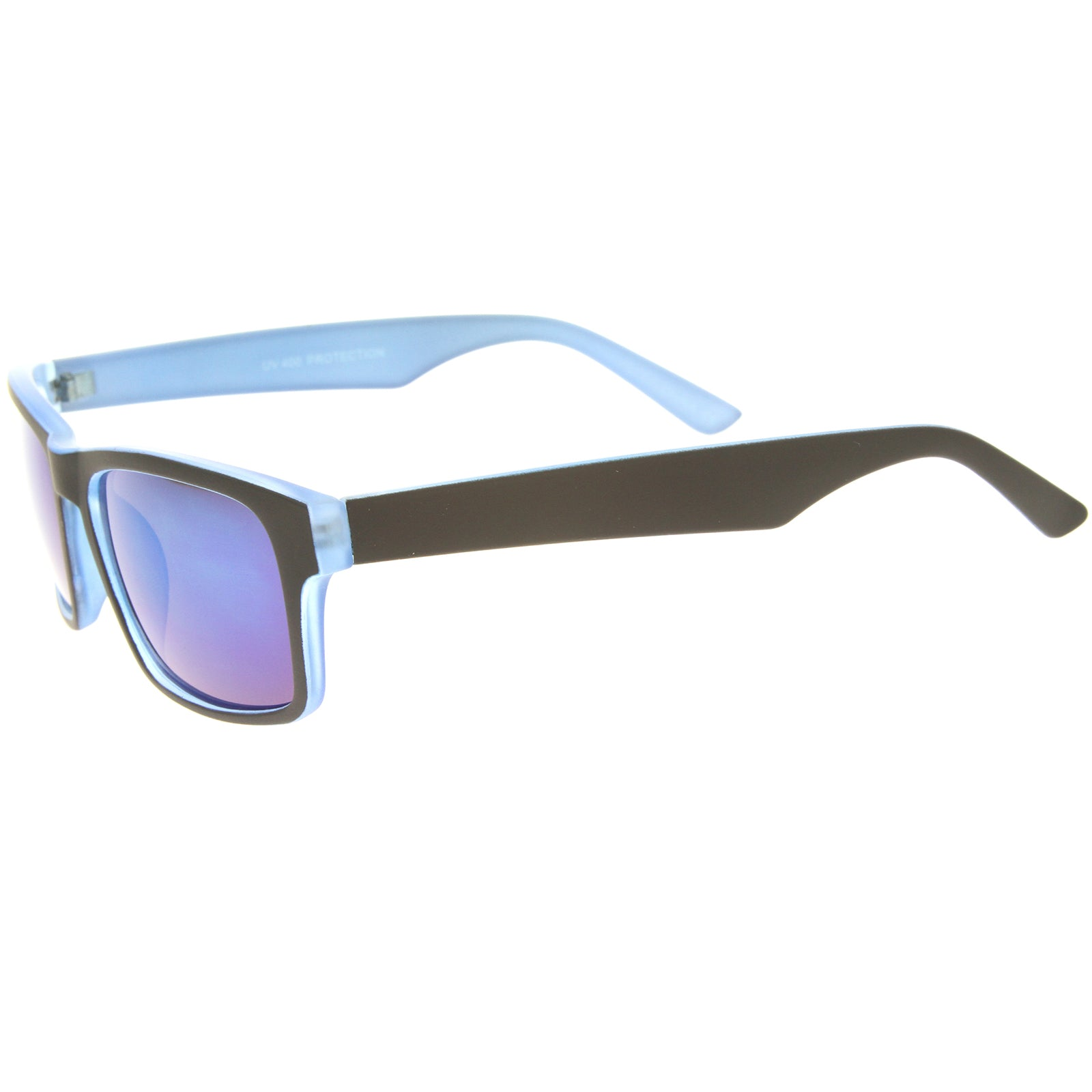 Mens Sport Sunglasses With UV400 Protected Mirrored Lens - sunglass.la - 7