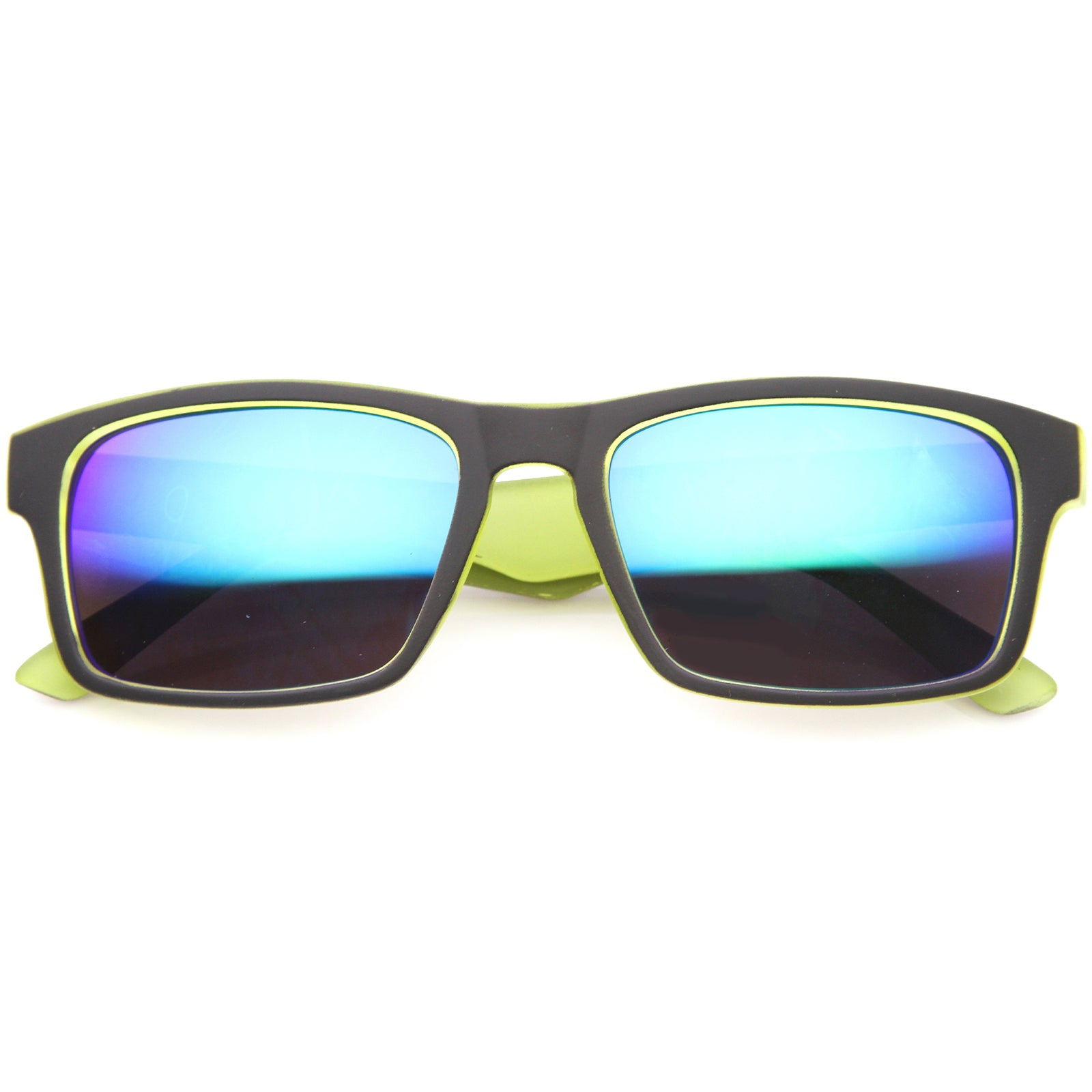 Mens Sport Sunglasses With UV400 Protected Mirrored Lens - sunglass.la - 13