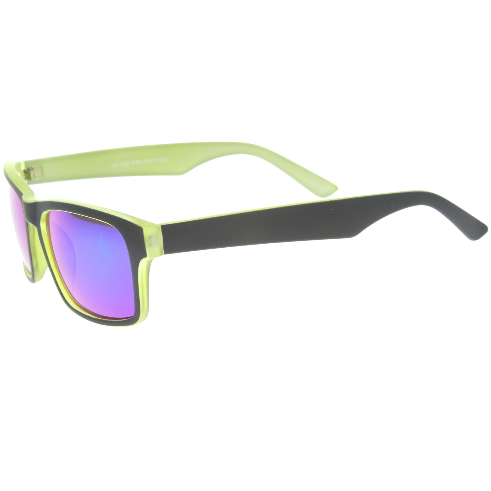 Mens Sport Sunglasses With UV400 Protected Mirrored Lens - sunglass.la - 15