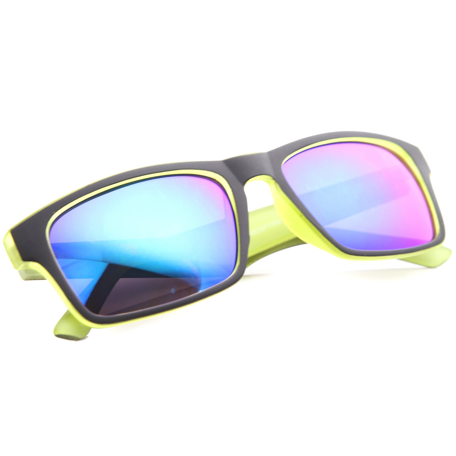 Mens Sport Sunglasses With UV400 Protected Mirrored Lens - sunglass.la - 16