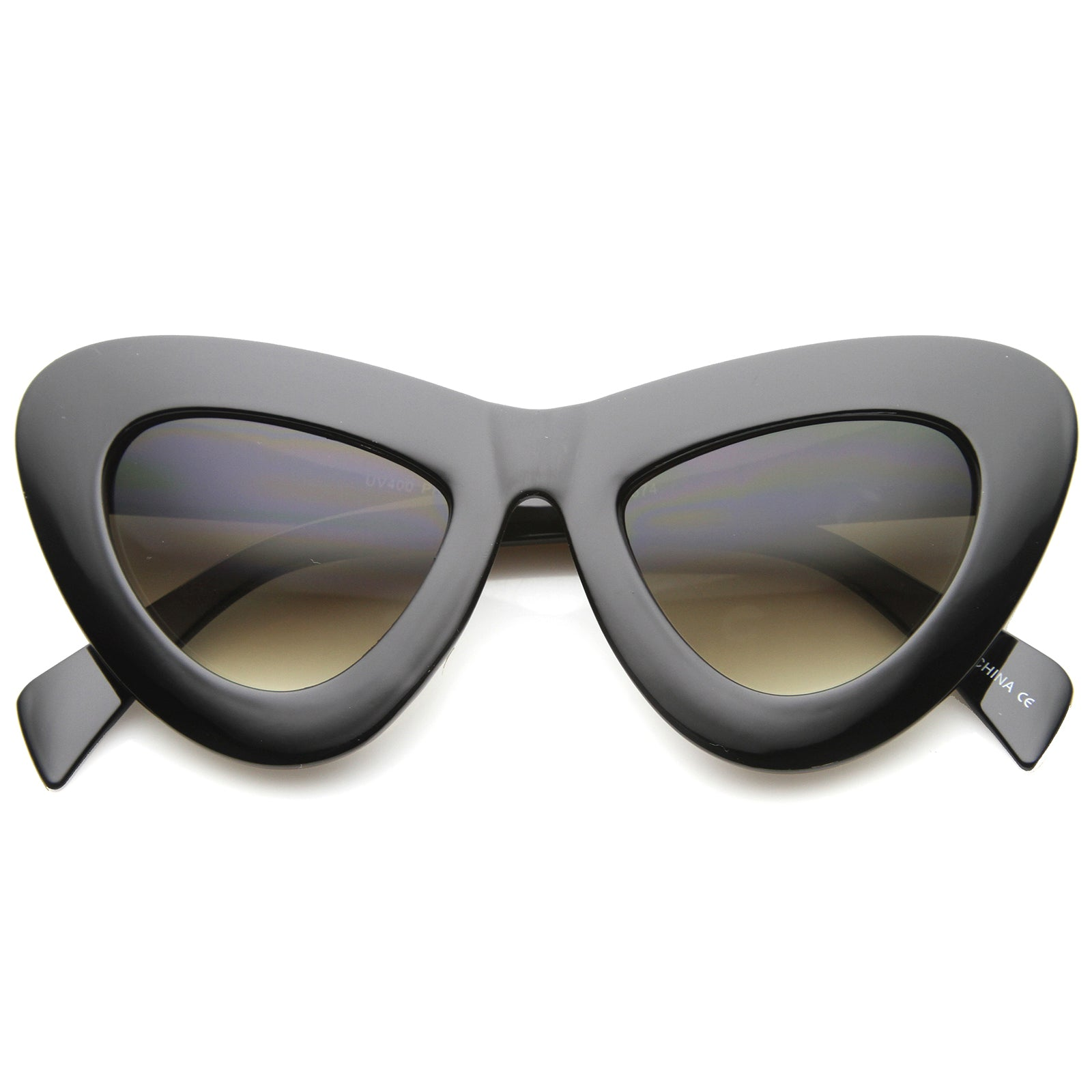Womens Cat Eye Sunglasses With UV400 Protected Composite Lens - sunglass.la - 1